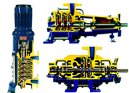ITT古尔兹P系列铸造多级离心泵配件
