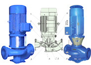 ITT古尔兹GFC/GLC系列管道泵配件